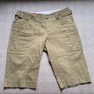 Alvin Valley Cargo Khaki Bermuda Shorts 6/38